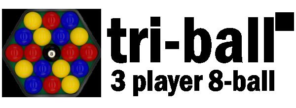 Tri-ball™ Global – 3 player 8-ball